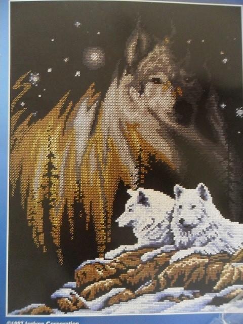 Grille gratuite loup - Modele de loup a imprimer ...